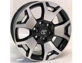 Jogo de rodas Toyota Hilux / SW4 SRX Diamond / BRW 1400